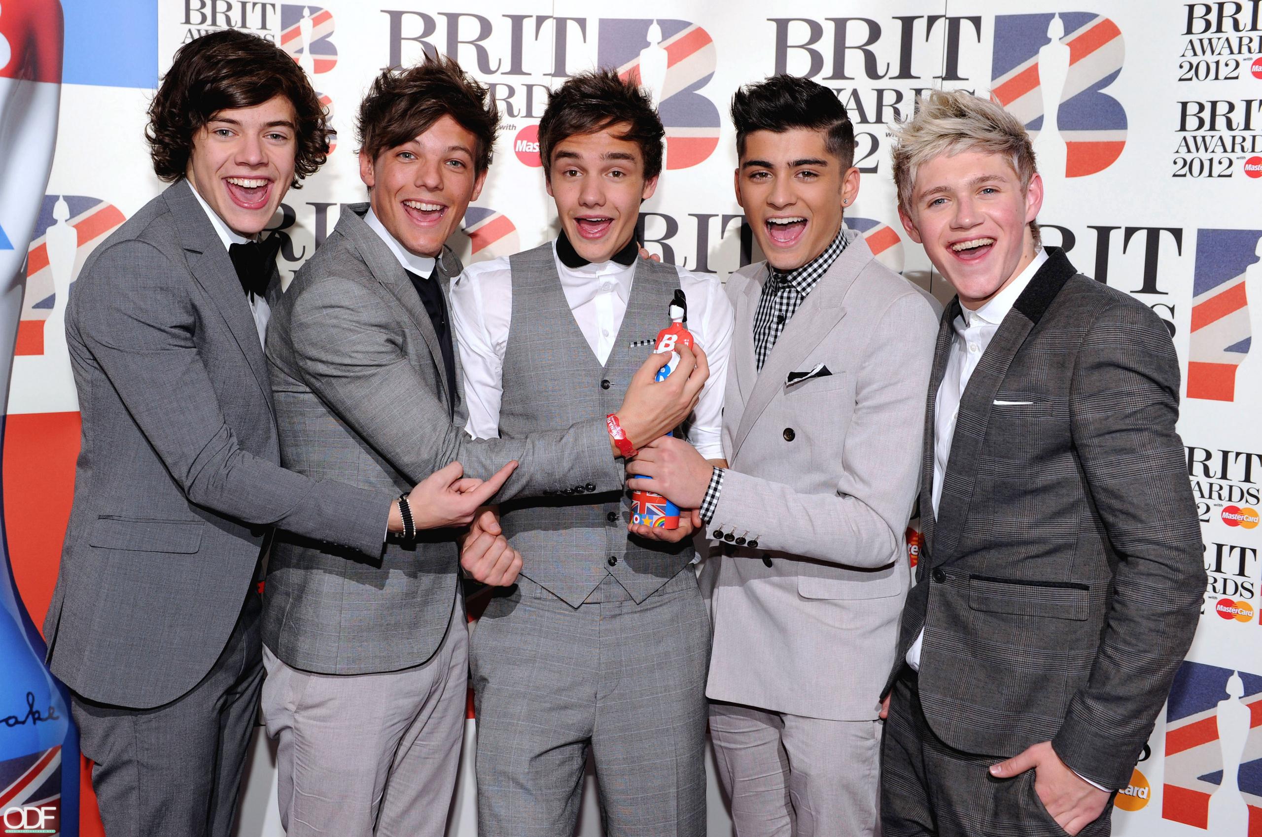 One Direction Brit Award - 2560x1698