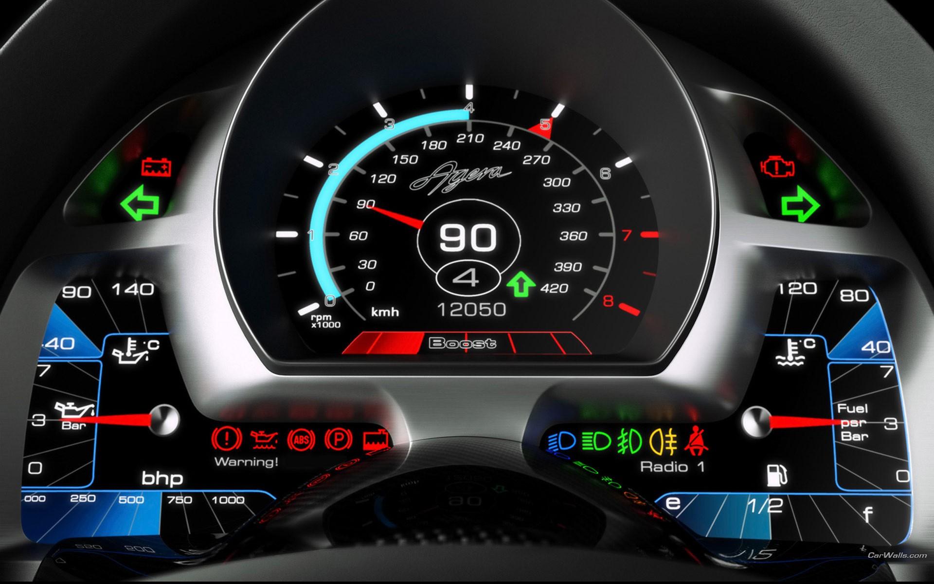 Panel de auto Koenigsegg Agera - 1920x1200