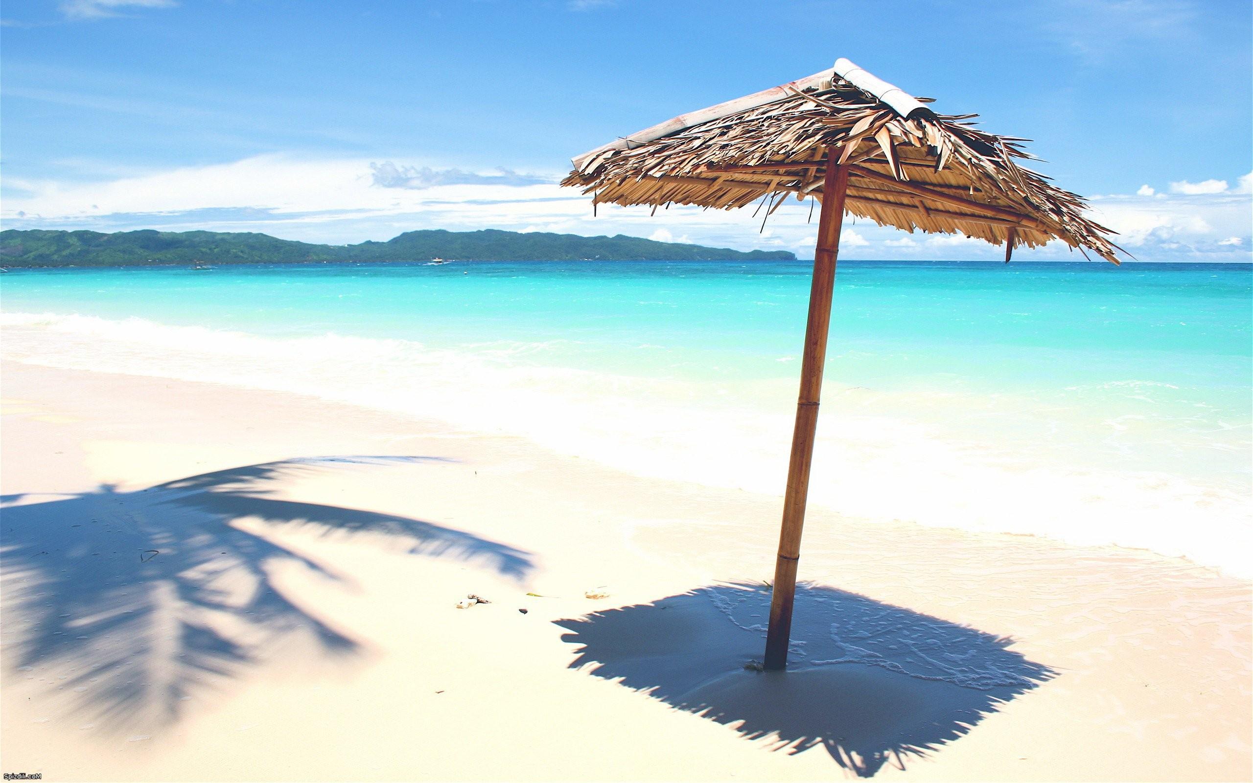 Paradisíacas playas - 2560x1600