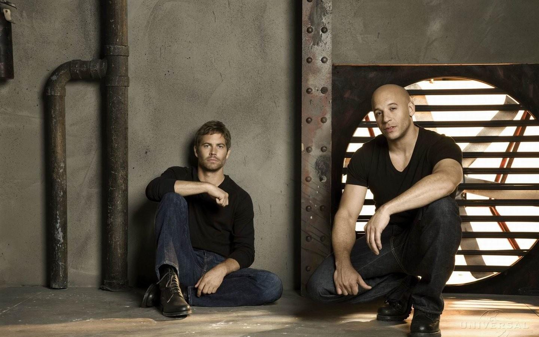 Paul Walker y Vin Diesel - 1440x900