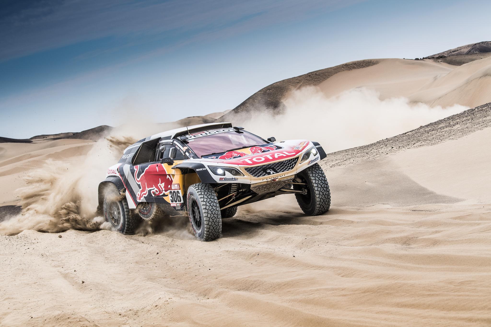 Peugeot team Dakar 2018 - 2048x1365