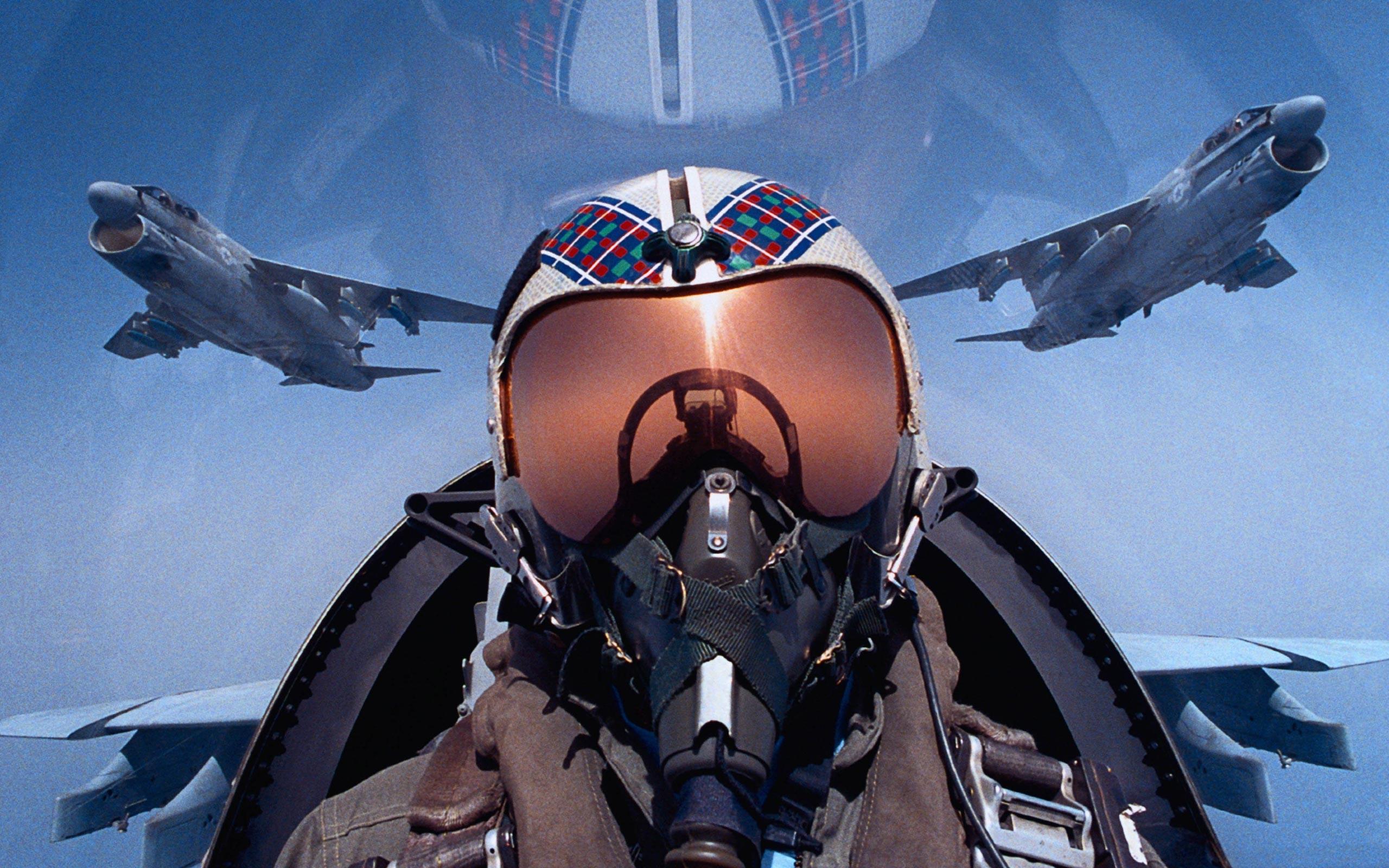 Piloto de avión - 2560x1600