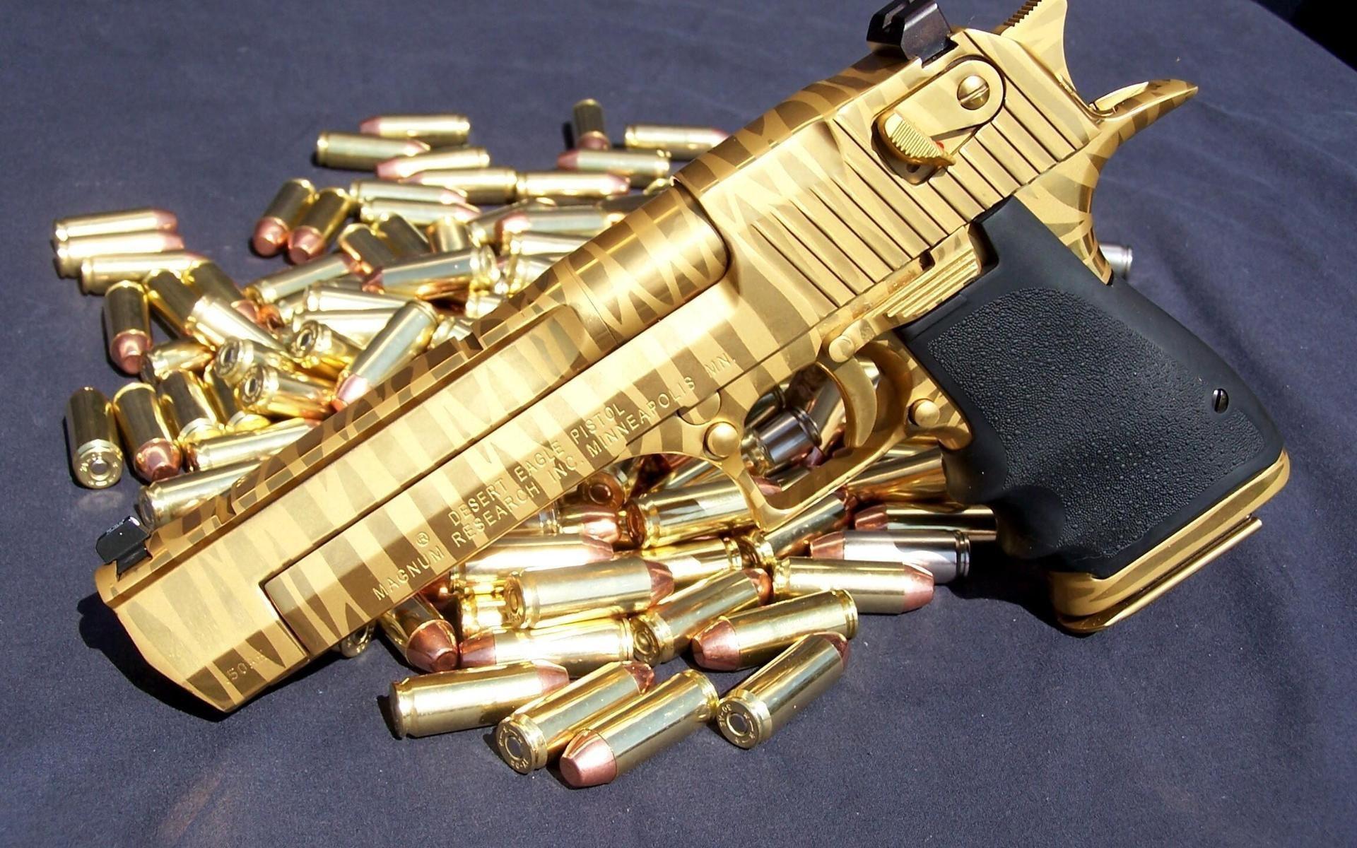 Pistola de Oro - 1920x1200