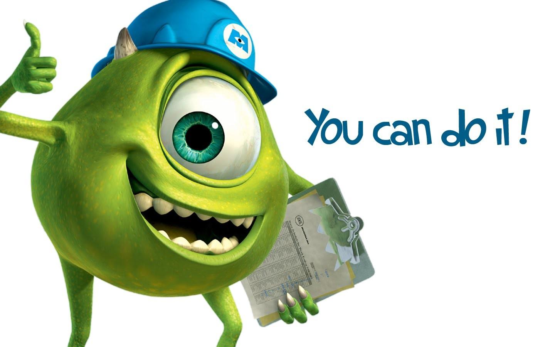 Pixar y Monsters Inc - 1440x900