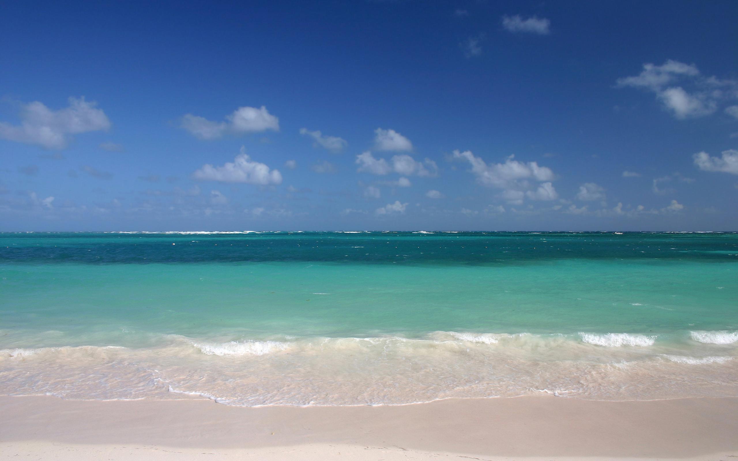 Playa azul - 2560x1600
