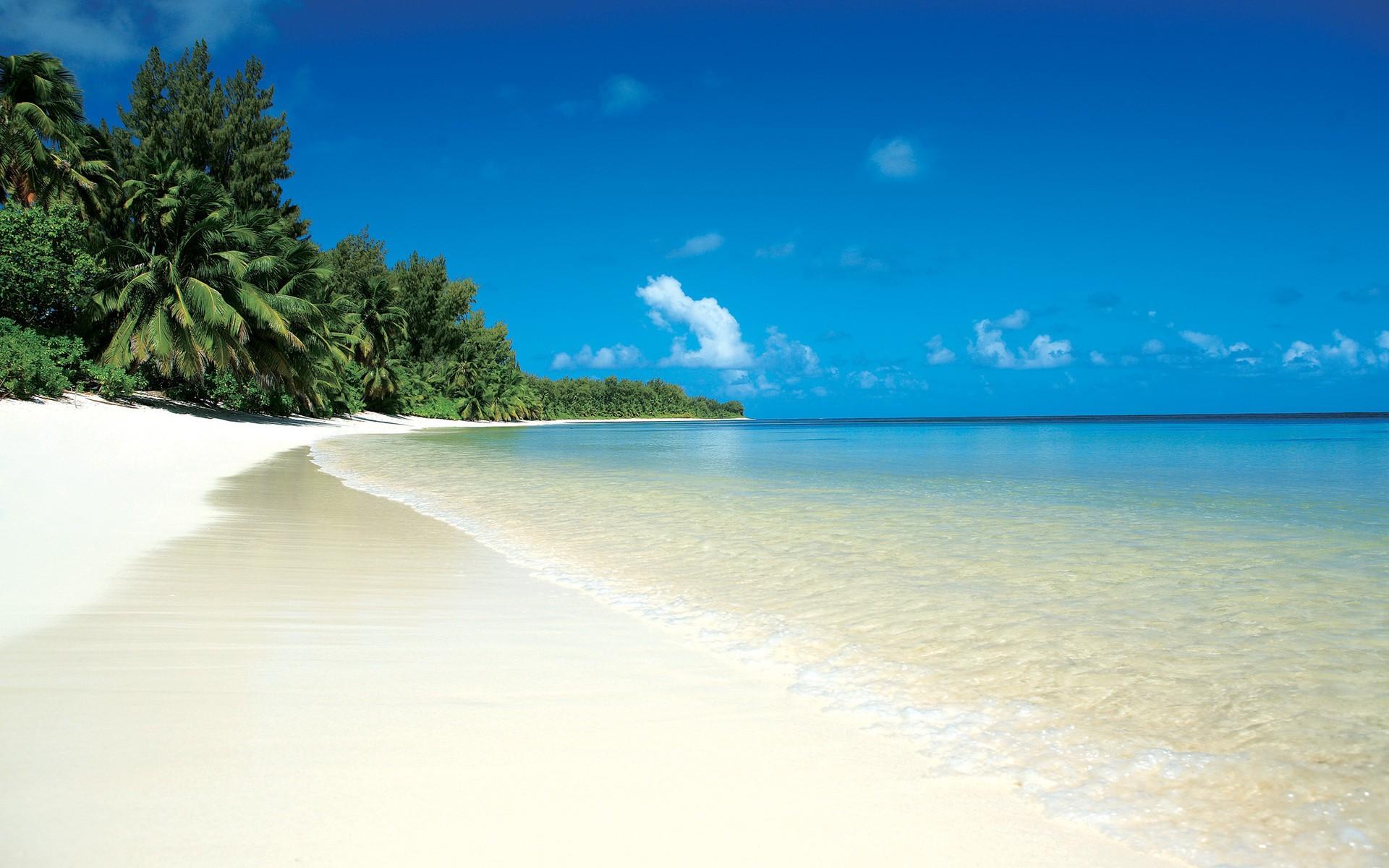 Playas del Caribe en vacaciones - 1920x1200