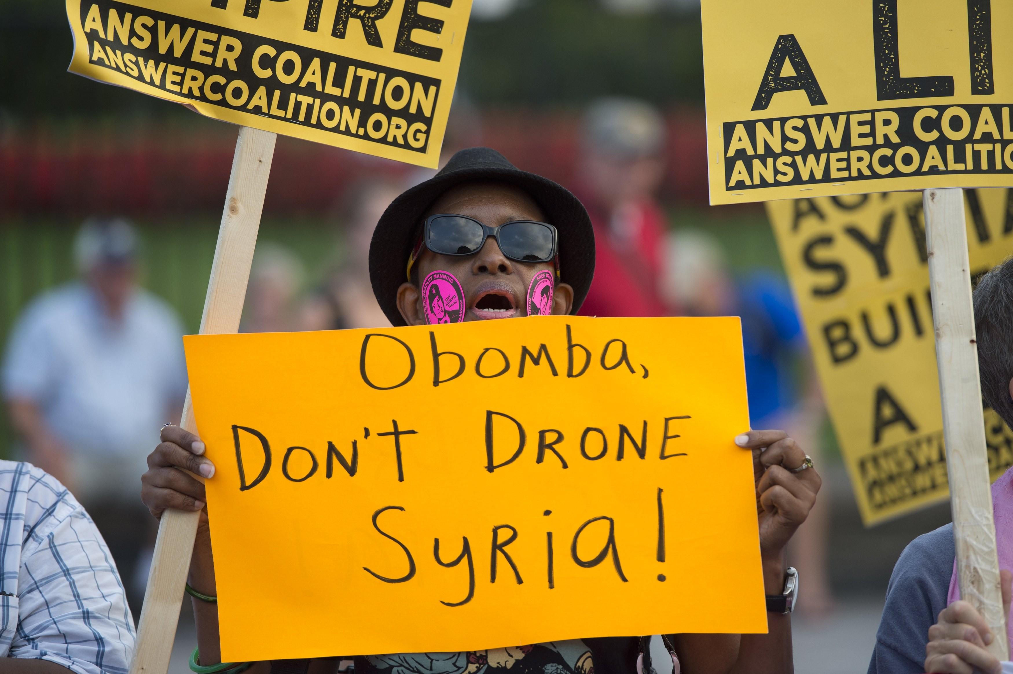 Protestas por guerra con Siria - 3500x2330
