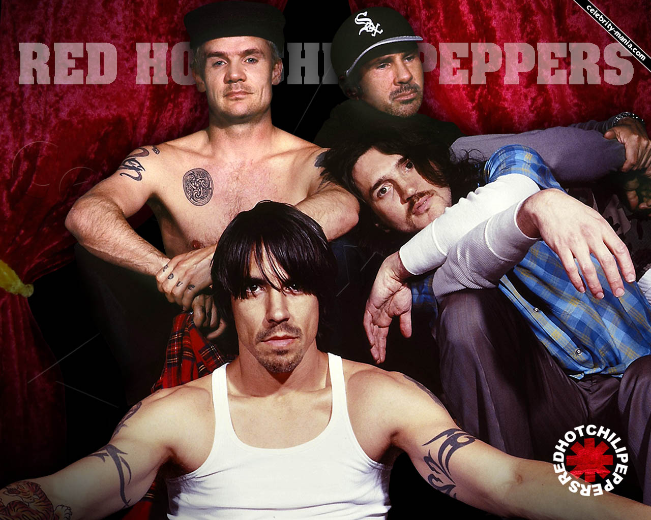 Red Hot Chilli Pepers - 1280x1024