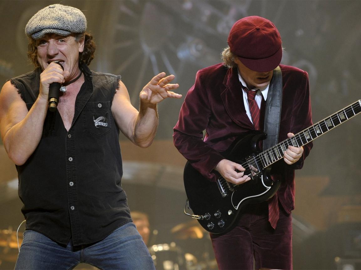 AC / DC en concierto - 1152x864