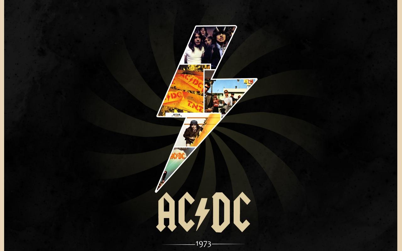 AC / DC Rock - 1280x800