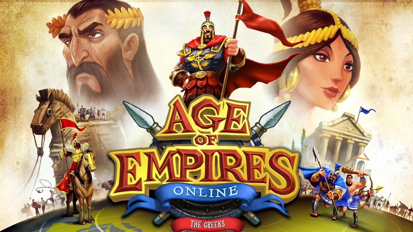 Age Of Empires online - 1366x768