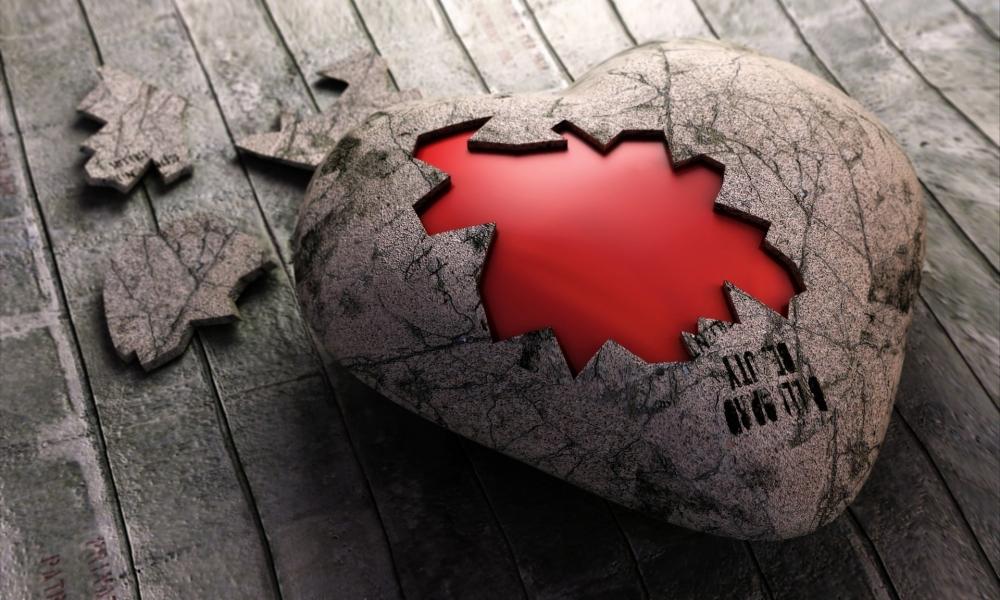 Un rompecabezas de corazón - 1000x600