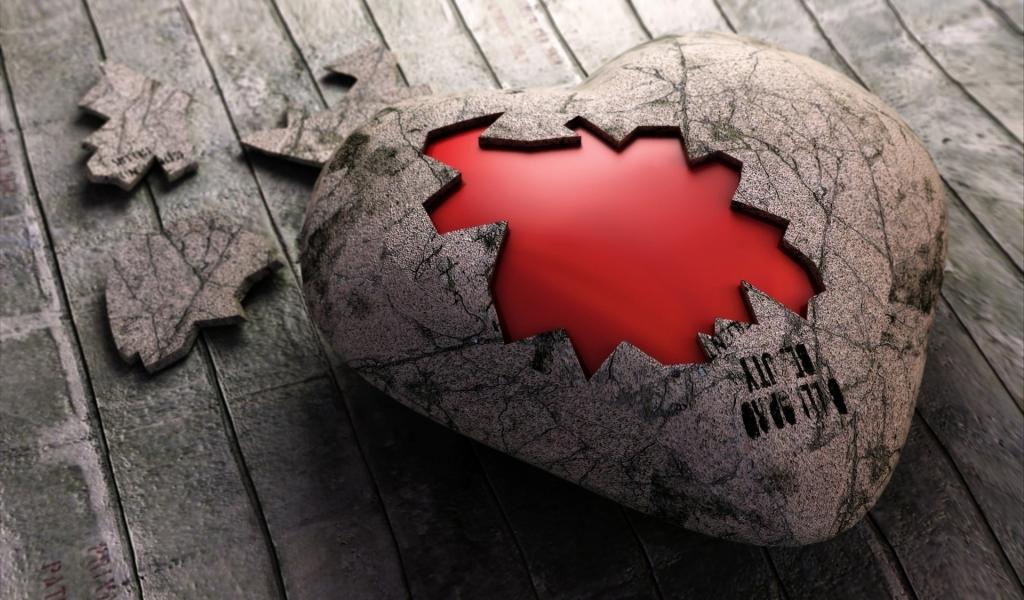 Un rompecabezas de corazón - 1024x600