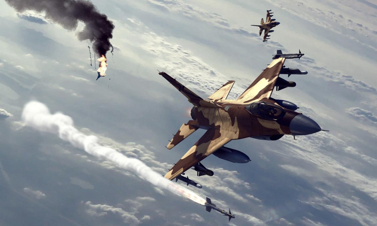 Ataques de aviones - 1280x768