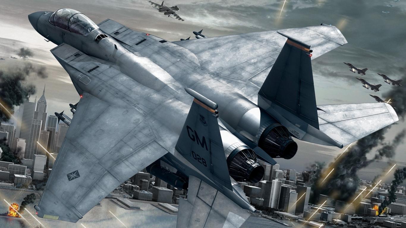 Aviones y videojuegos - 1366x768