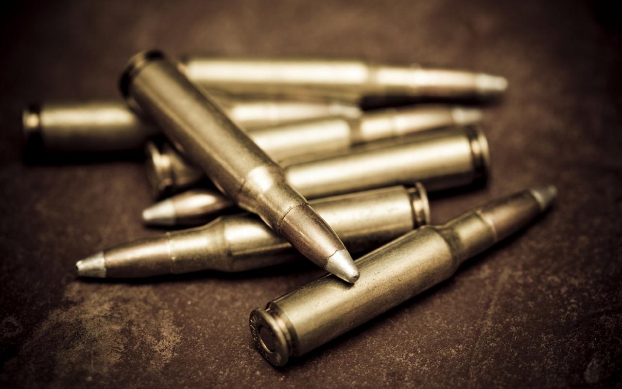 Balas de rifle - 1280x800