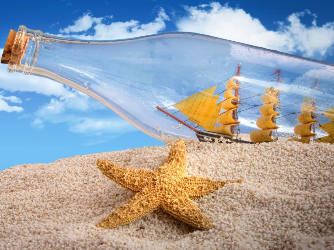 Barco en botella - 1280x960