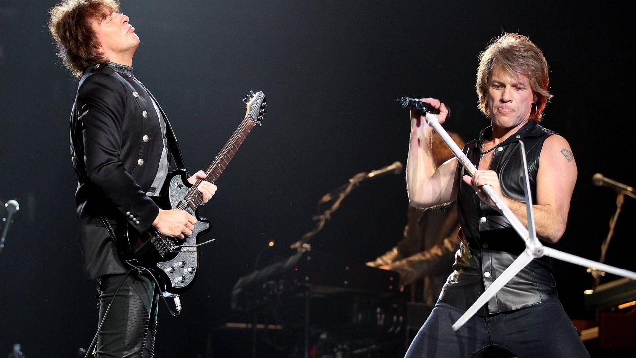 Bon Jovi en concierto - 1280x720