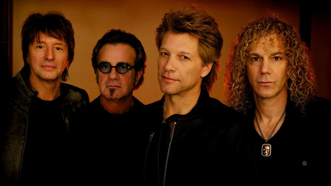 Bon Jovi - 1366x768