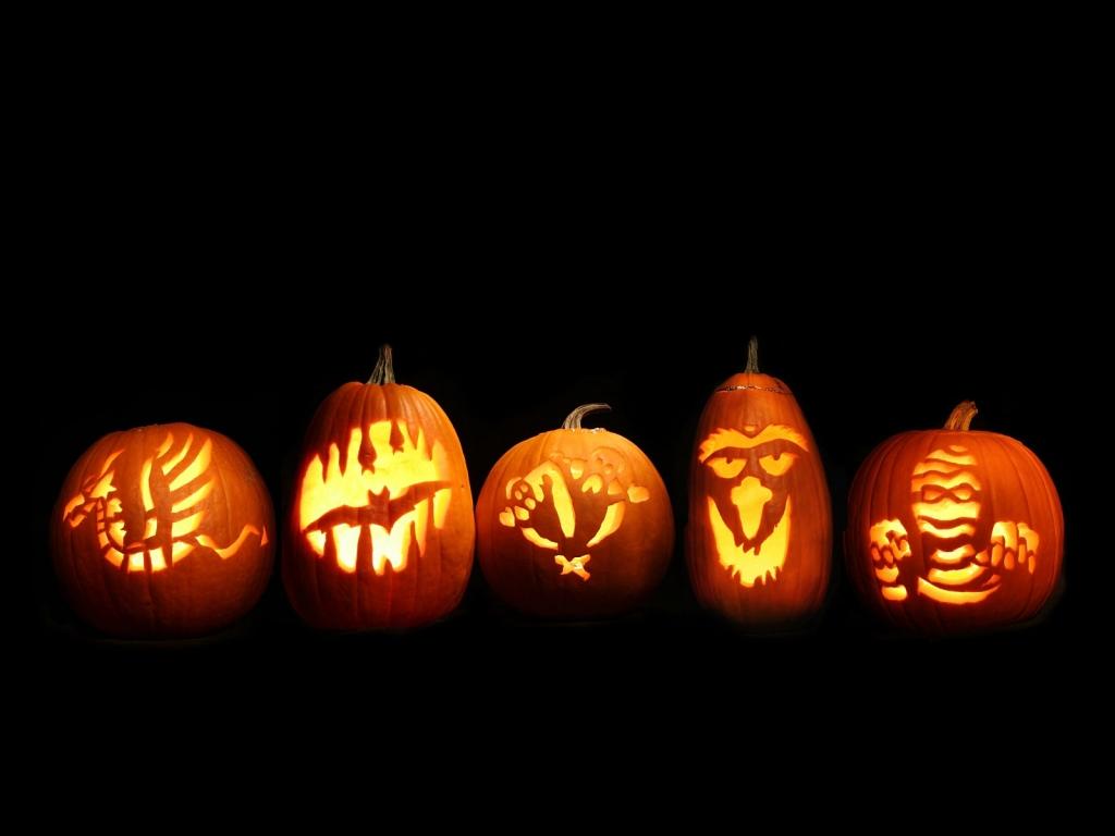 Calabazas de Halloween - 1024x768