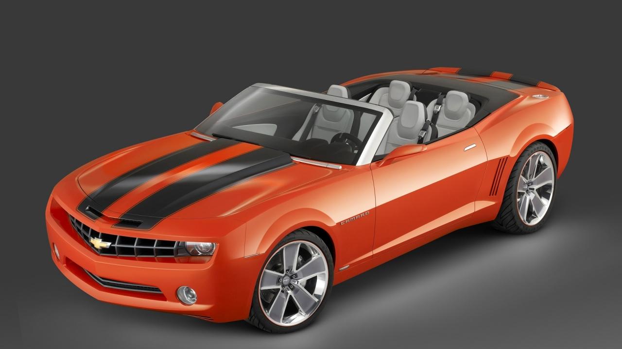 Camaro 3D - 1280x720