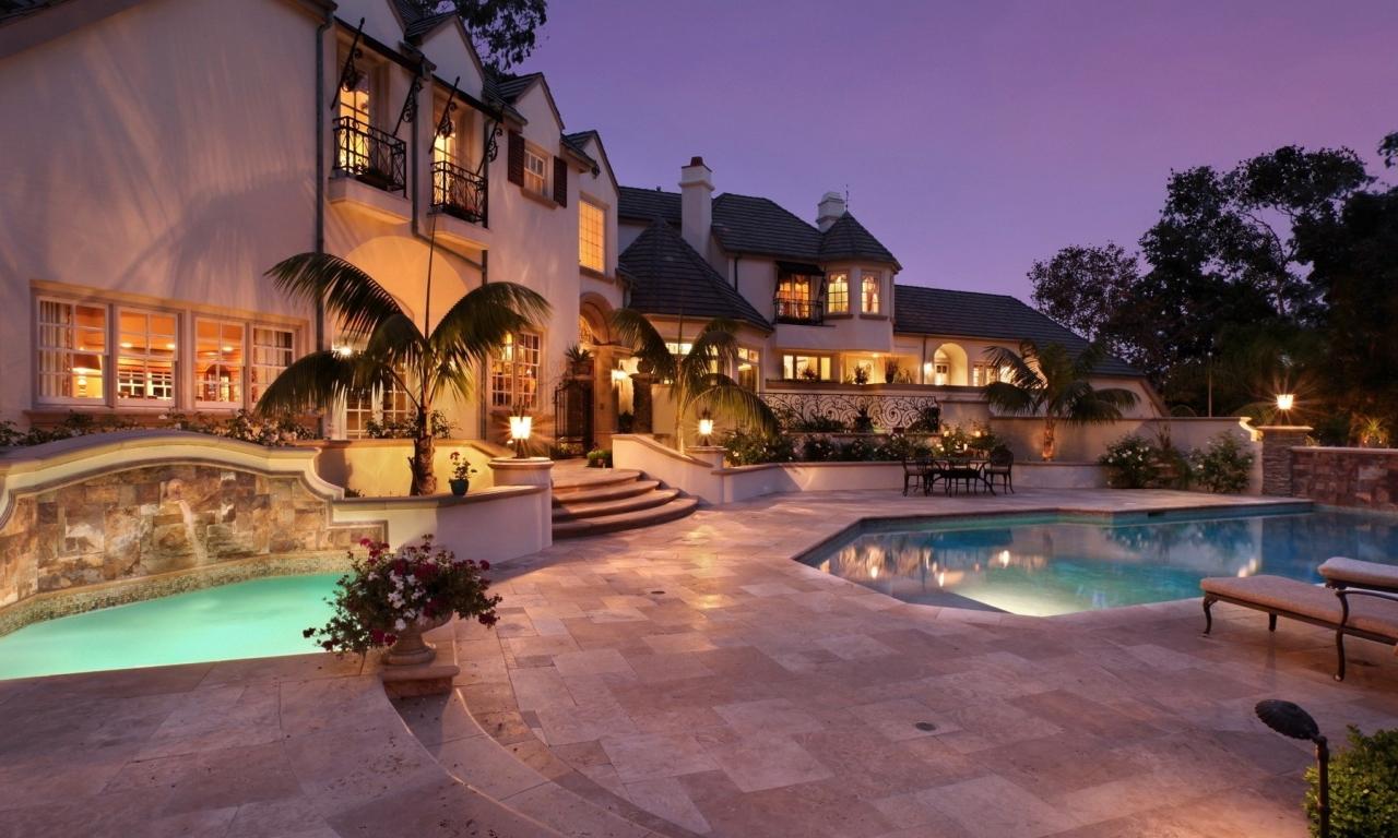 Casas con piscinas - 1280x768