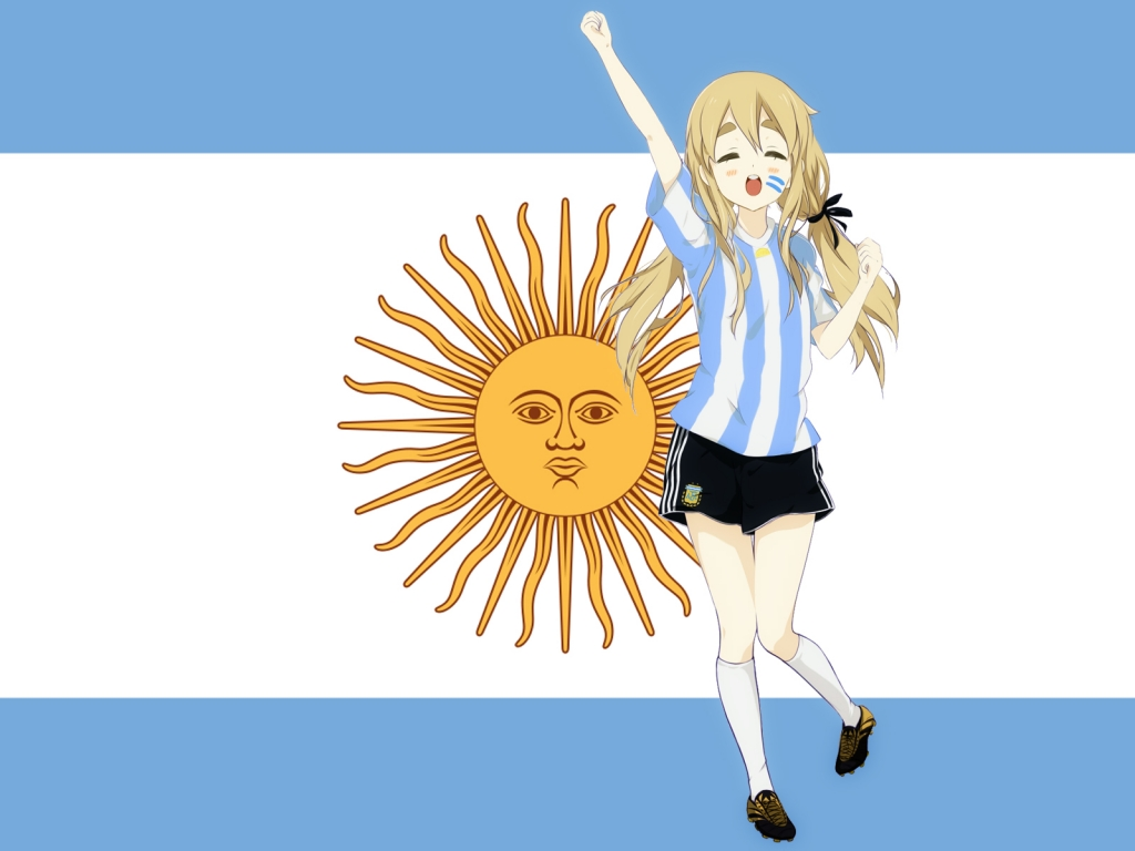 Chica K-ON de Argentina - 1024x768
