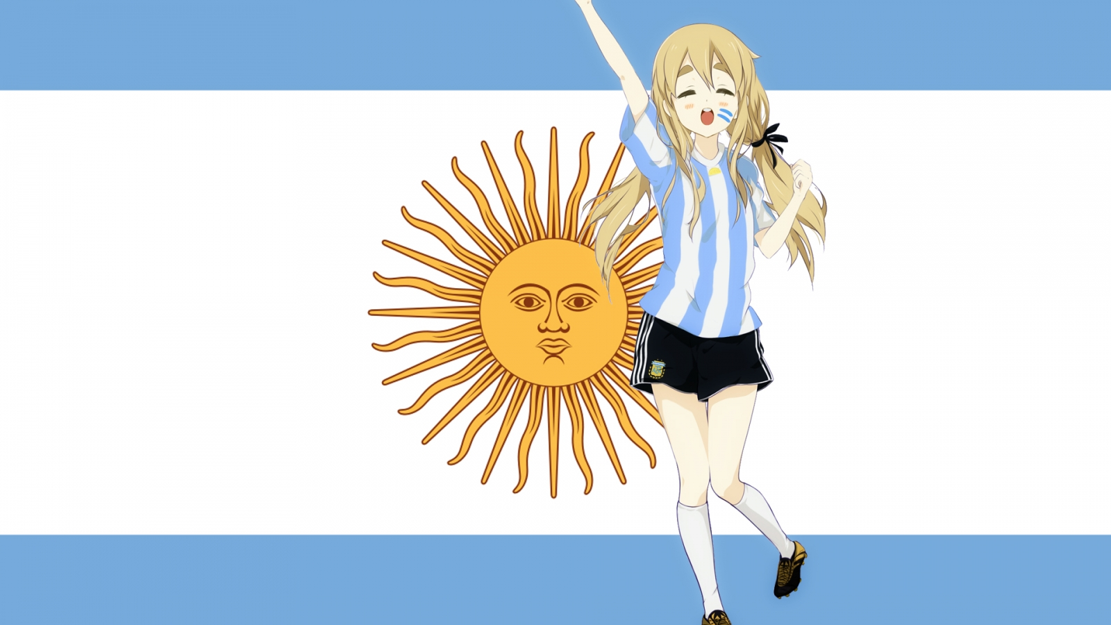 Chica K-ON de Argentina - 1600x900
