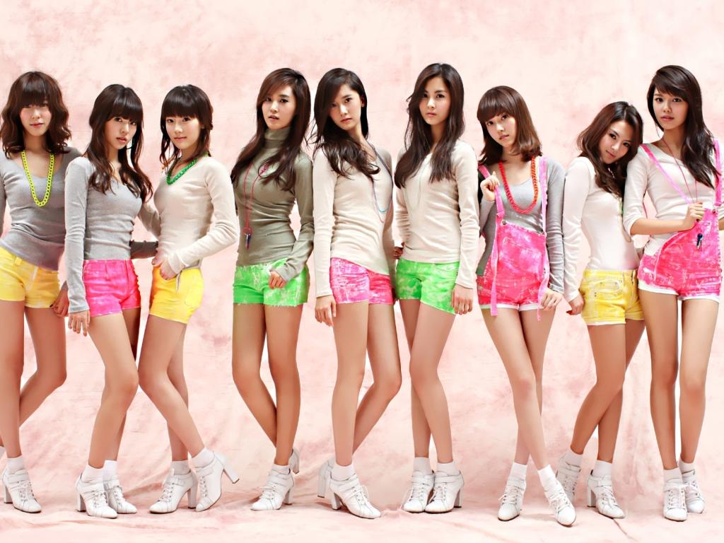 Chicas jovenes asiáticas - 1024x768