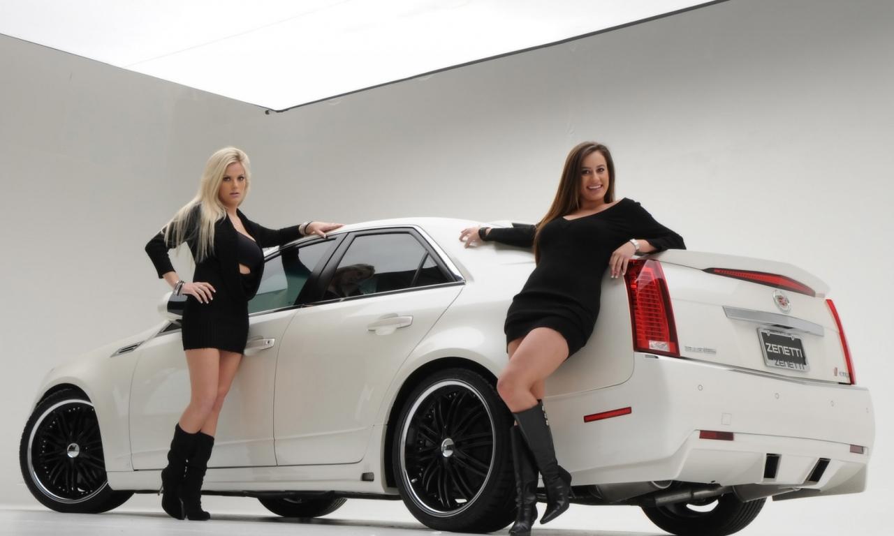 Chicas y Cadillac - 1280x768