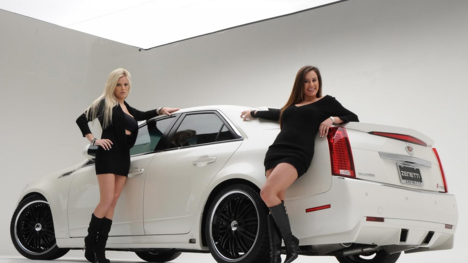 Chicas y Cadillac - 1600x900