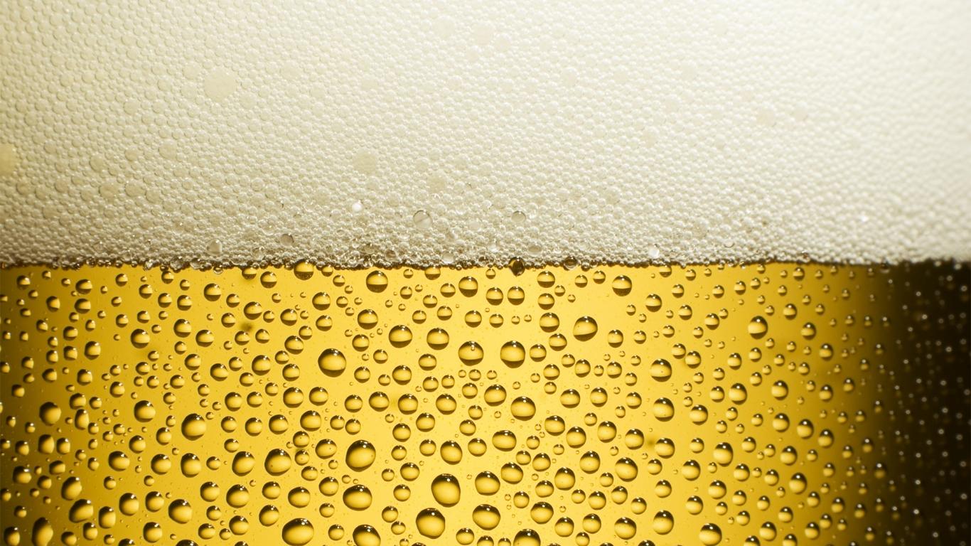 Vaso de cerveza - 1366x768