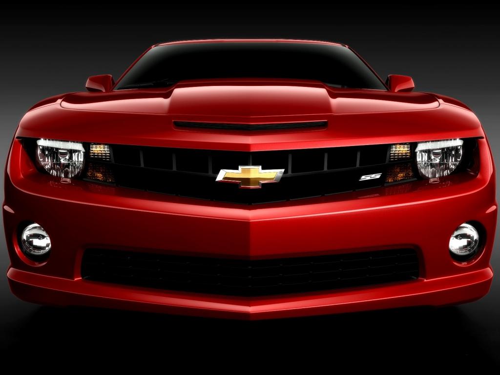 Chvrolet camaro rojo - 1024x768
