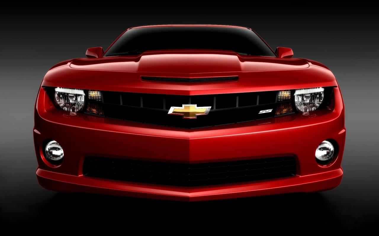 Chvrolet camaro rojo - 1280x800