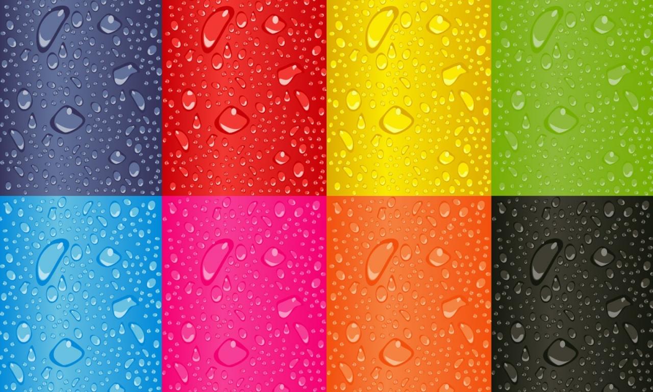 Cuadros de colores - 1280x768