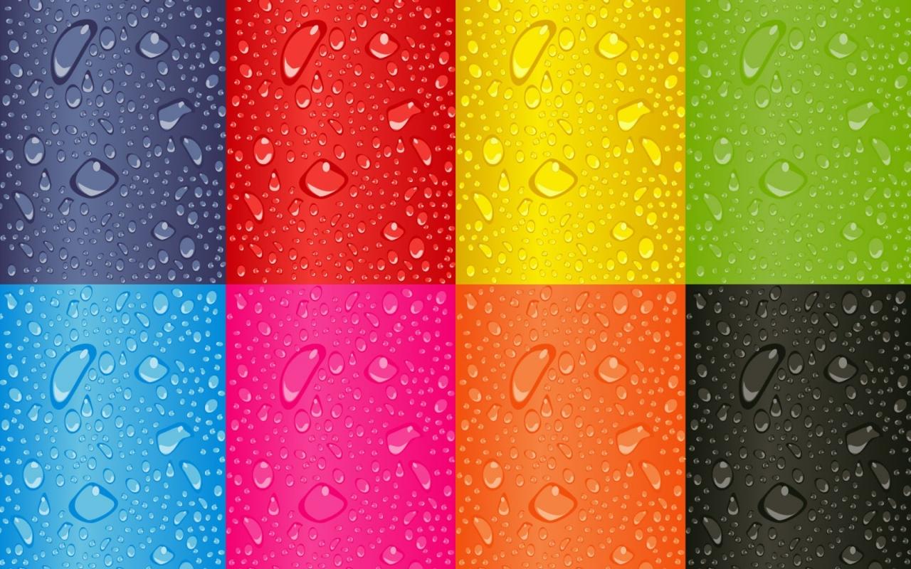 Cuadros de colores - 1280x800