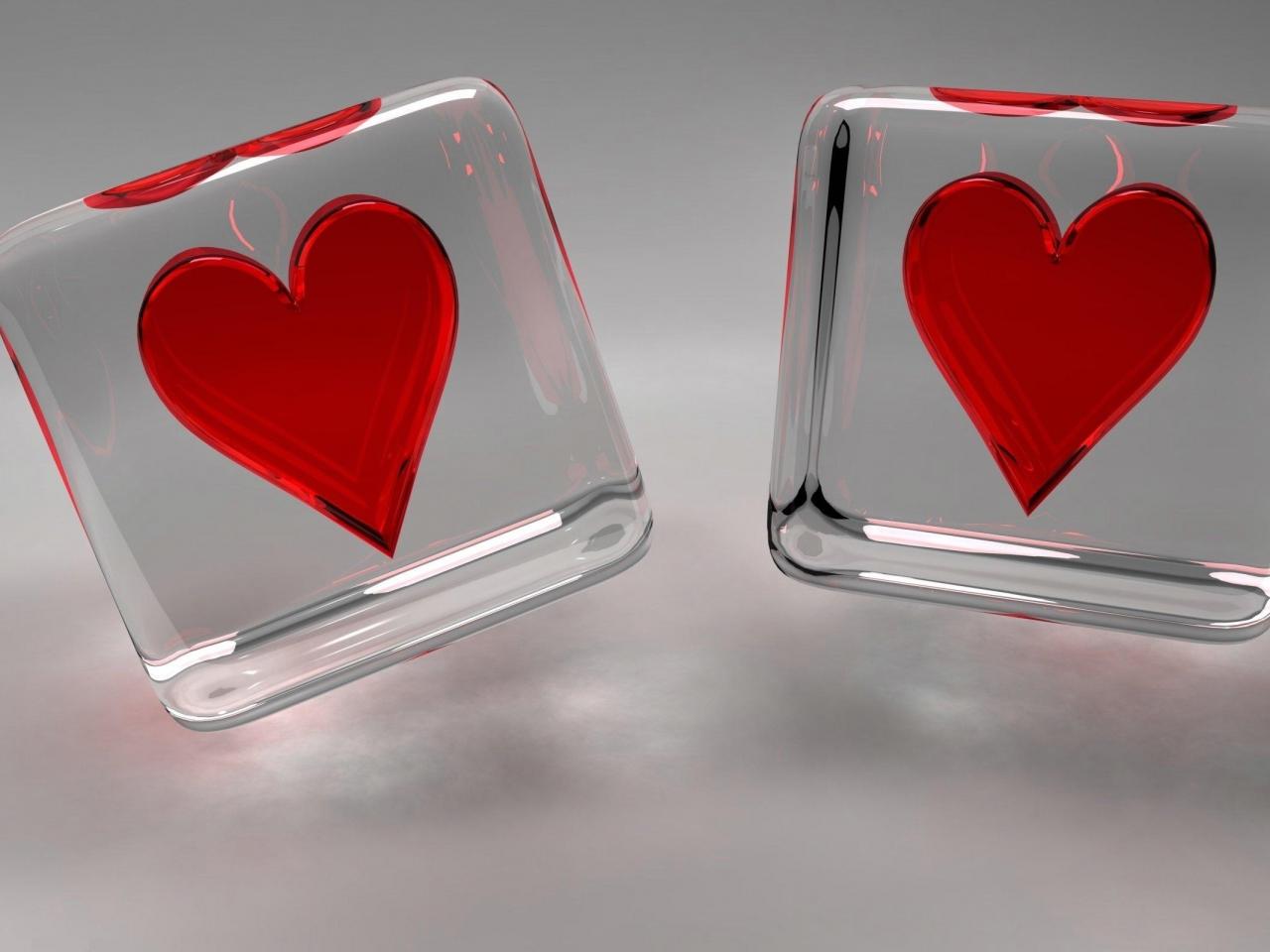 Dados de corazones - 1280x960