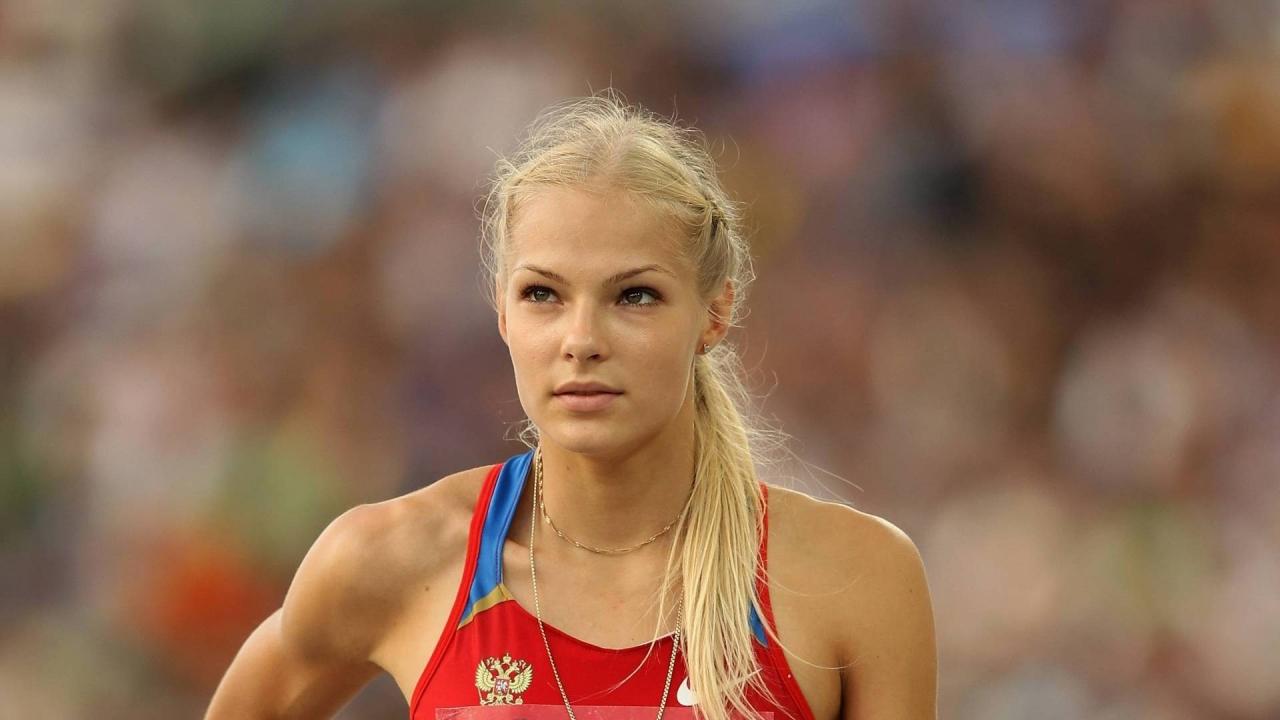 Darya Klishina - 1280x720