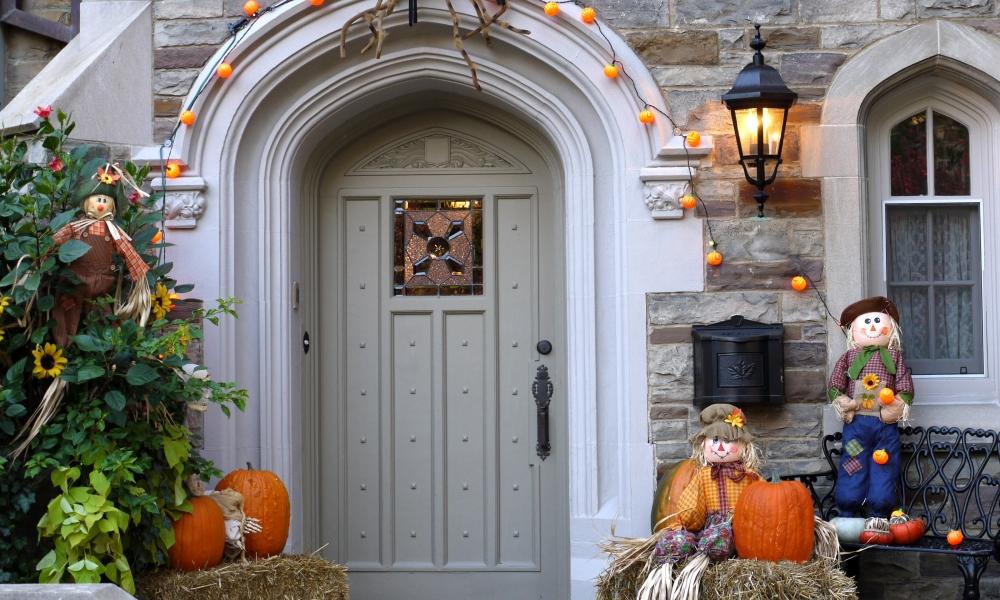 Decoración de casa halloween - 1000x600