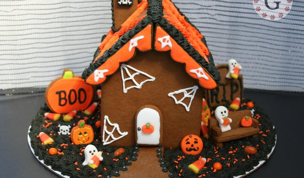 Decoración de torta por halloween - 1024x600