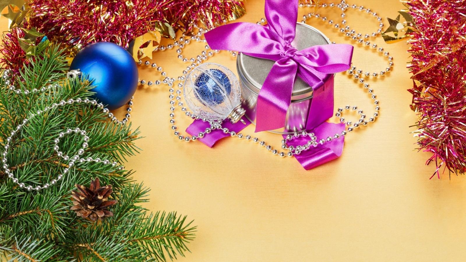 Decoración para árbol de navidad - 1600x900