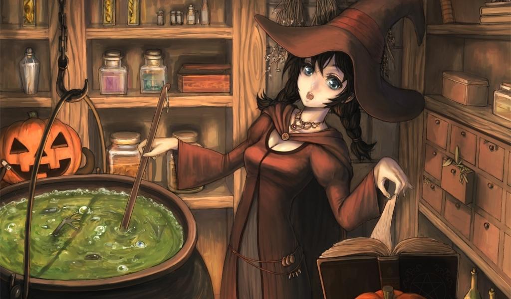 Dibujo de brujas - 1024x600