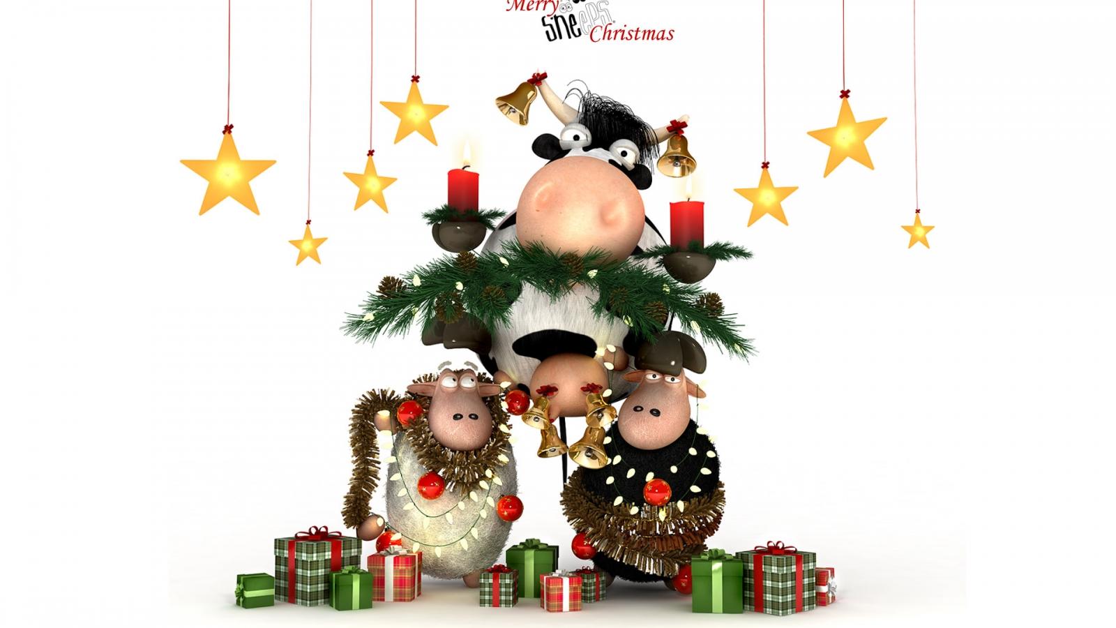 Dibujos por navidad - 1600x900