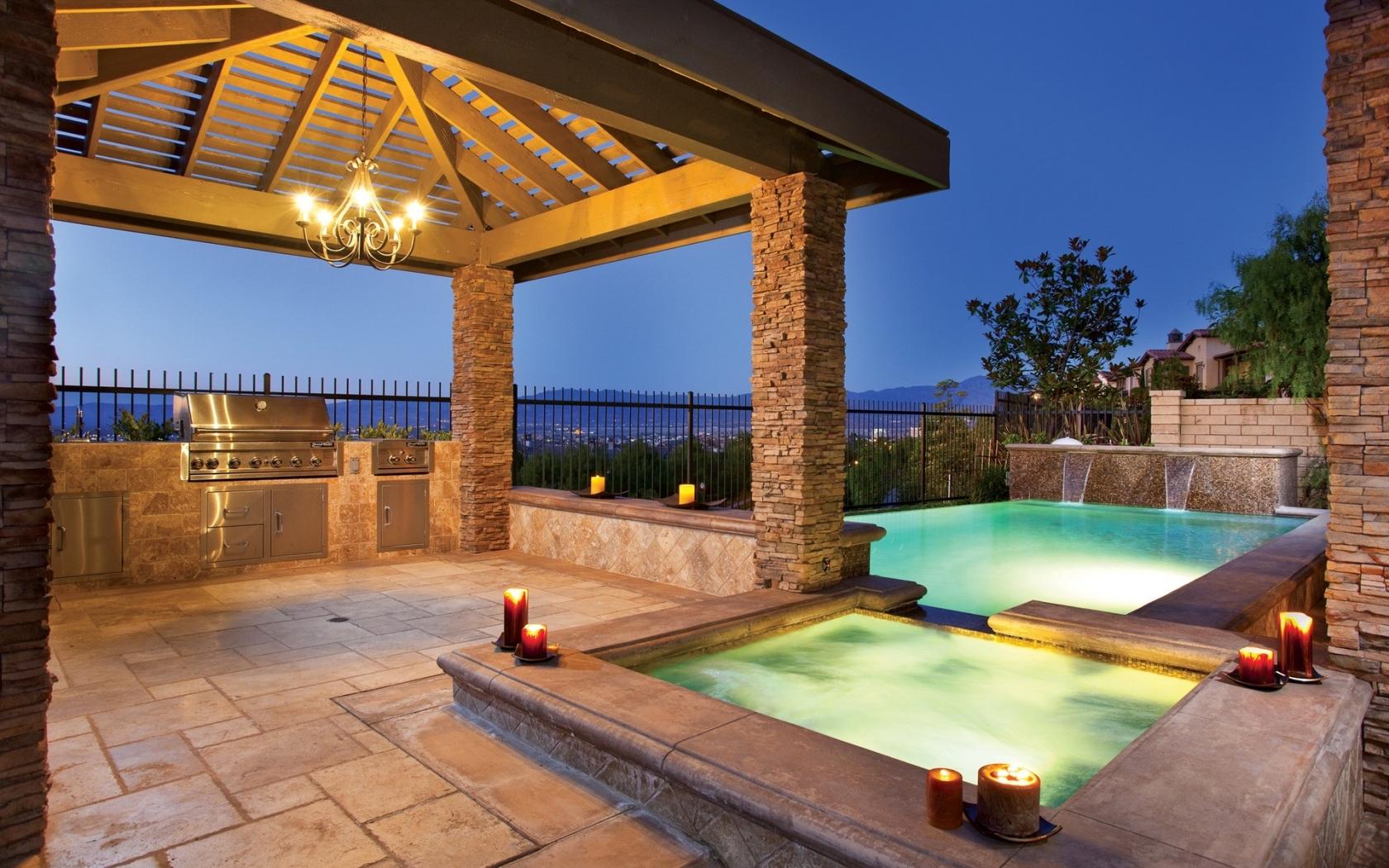 Diseño de una piscina - 1680x1050