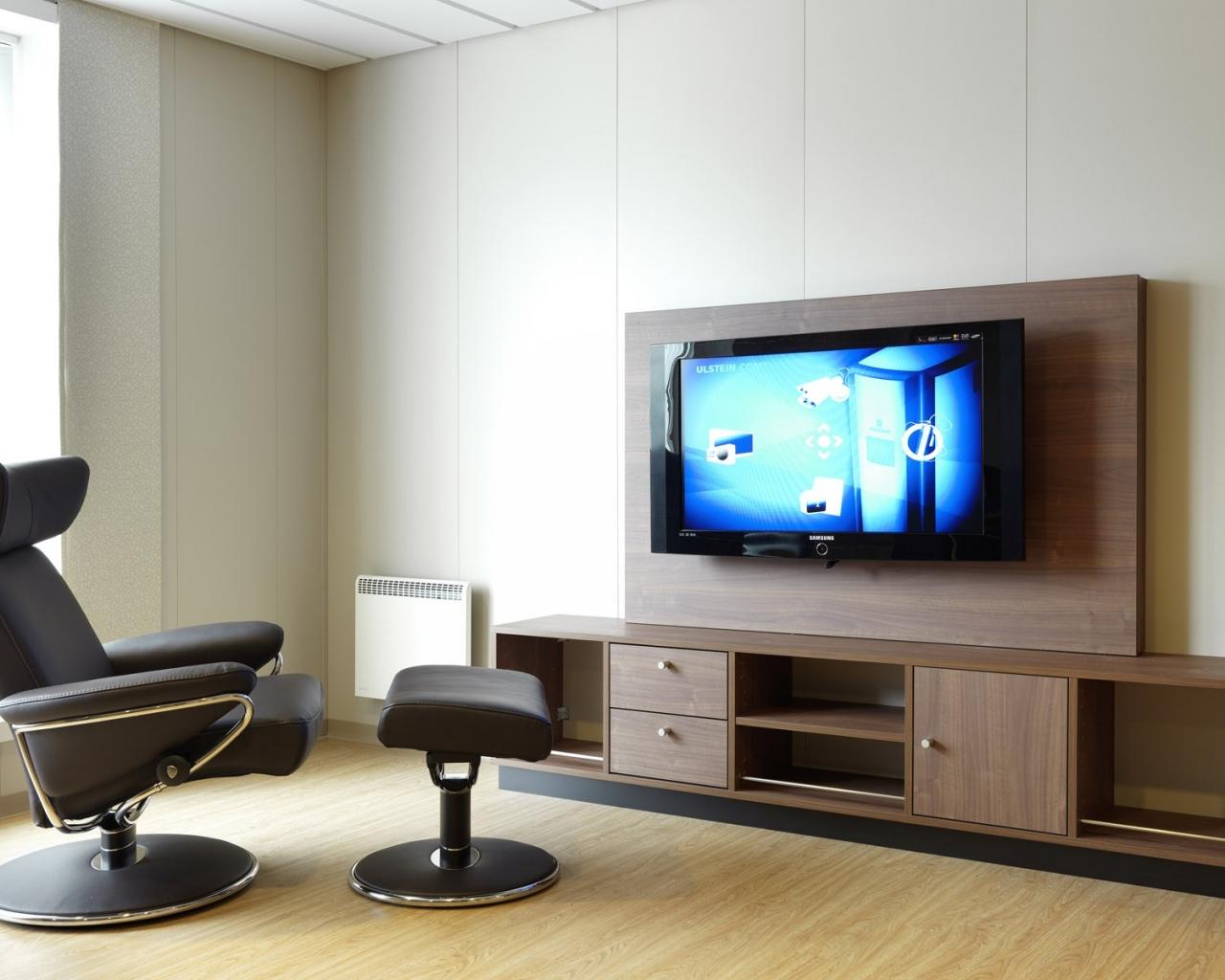 Diseño de sala de Televisión - 1280x1024