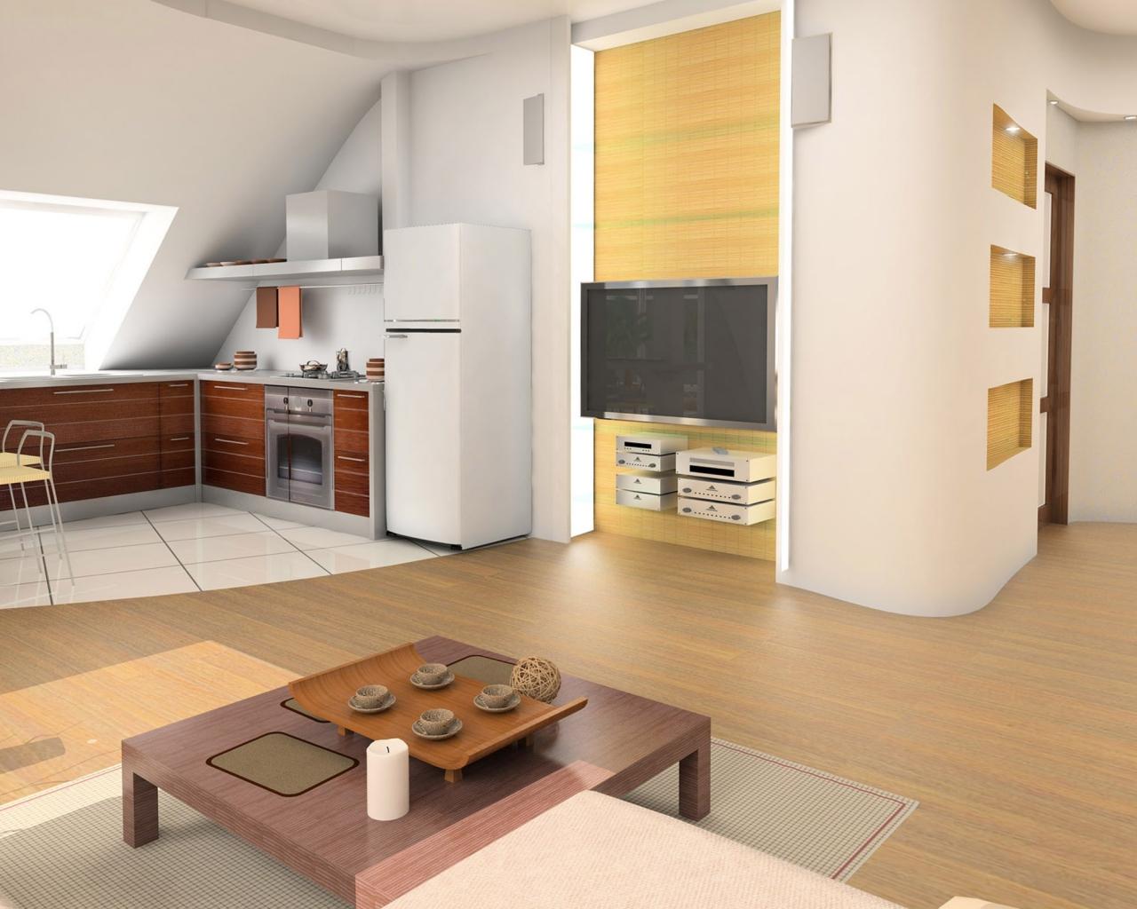 Diseño de una cocina - 1280x1024
