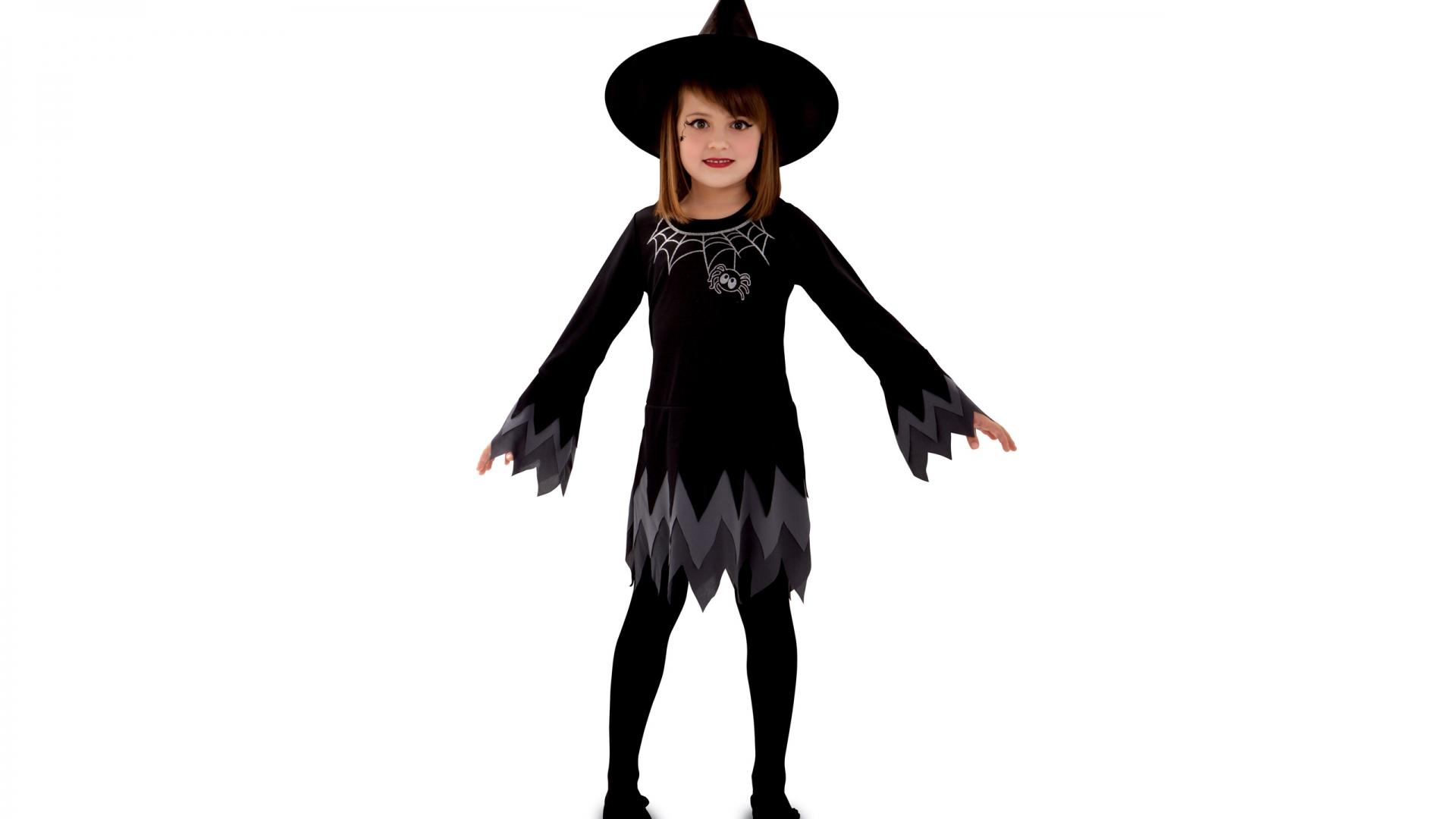 Disfraz de niña bruja - 1920x1080