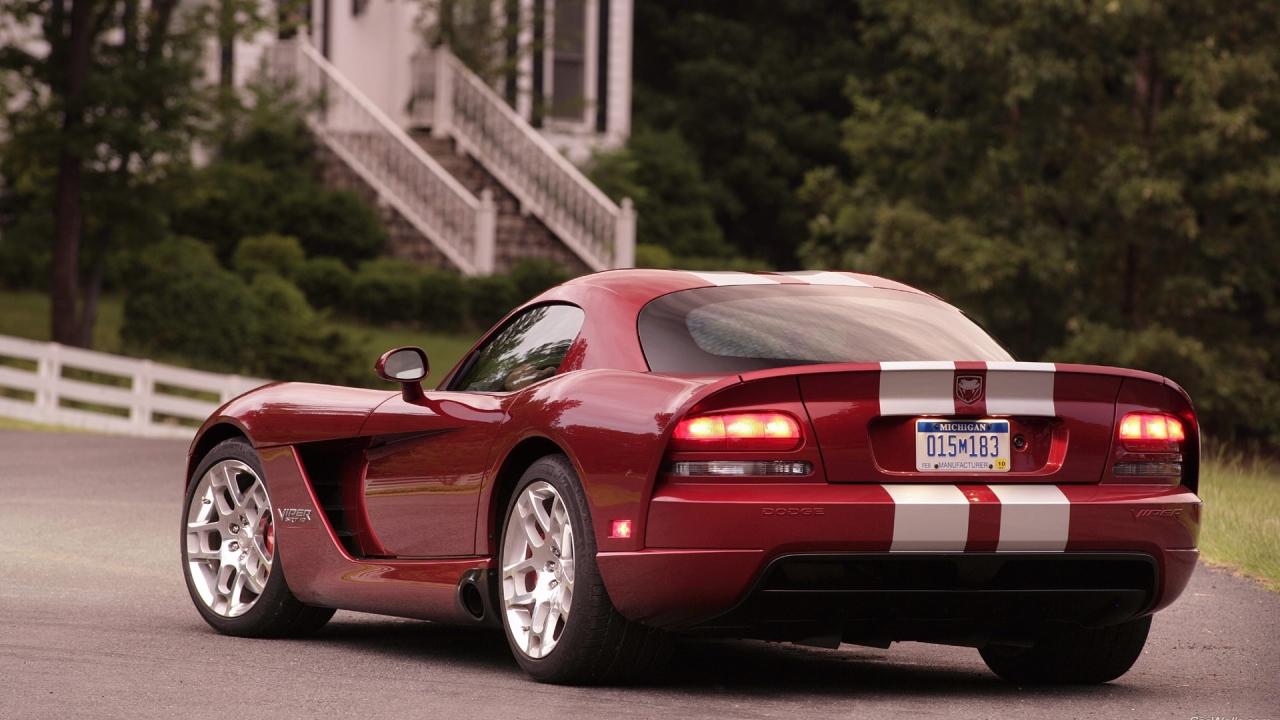 Dodge Viper SRT10 - 1280x720
