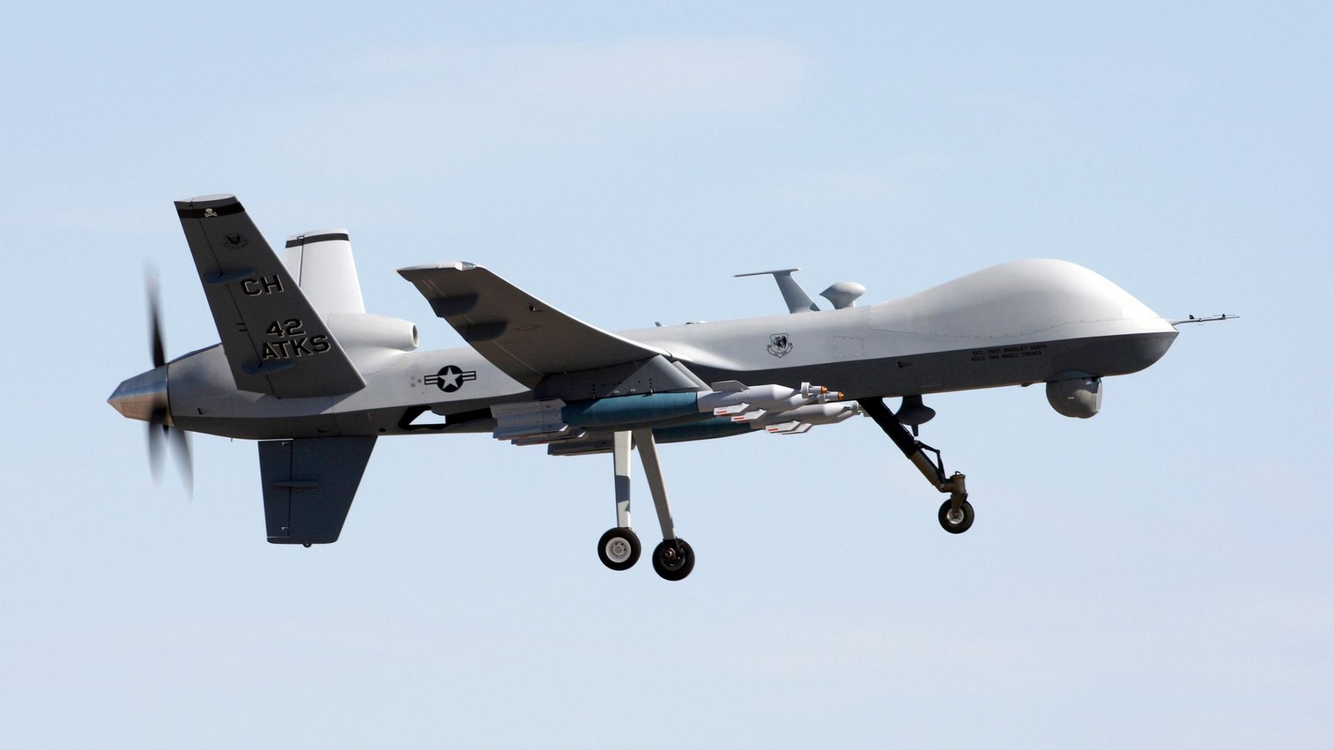 Drones tipo MQ-9 Reaper - 1920x1080