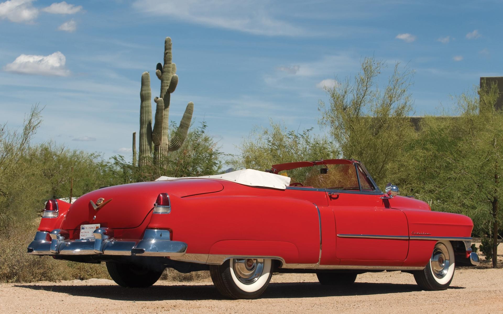 El clásico Cadillac - 1920x1200